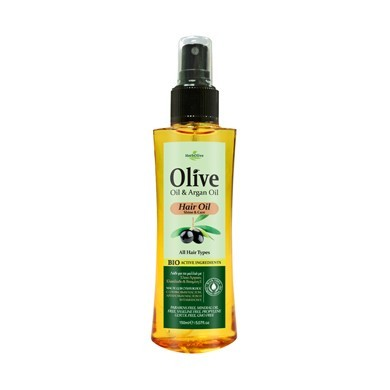 Haaröl mit Arganöl Glanz & Pflege -Hair Oil Argan Shine & Care